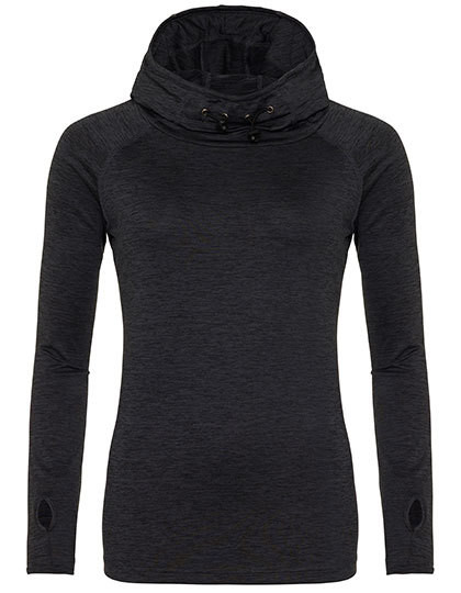 JC038 Just Cool Girlie Cool Cowl Neck Top